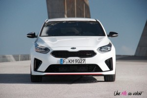 Kia Proceed GT avant calandre