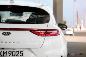 Kia Proceed GT arrière feux logo
