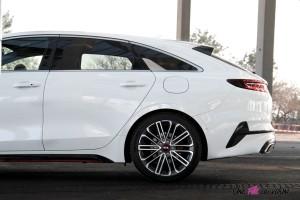Kia Proceed GT coffre jantes profil