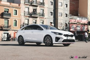 Kia Proceed GT profil calandre roues feux