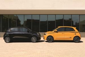 Renault Twingo profil jantes orange noir