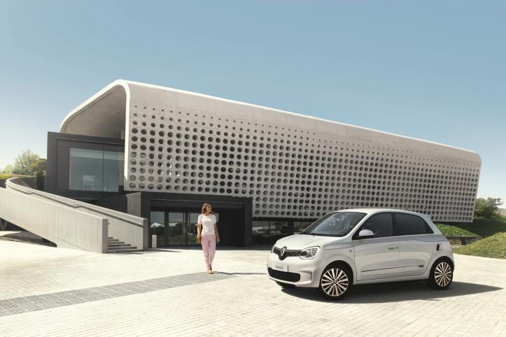 Renault Twingo avant profil jantes gris