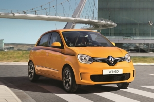 Renault Twingo avant statique feux logo