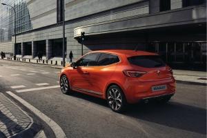 Renault Clio 5 arrière feux bouclier échappement