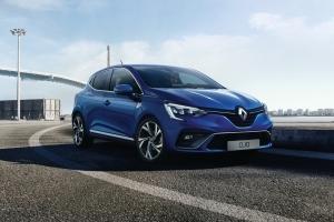 Renault Clio 5 2019 RS Line avant jantes bleu
