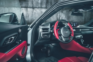 Toyota Supra intérieur écran habitacle