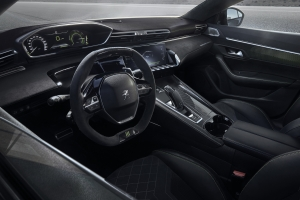 508 Peugeot Sport Engineered concept intérieur volant