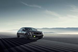 508 Peugeot Sport Engineered concept avant dynamique gris