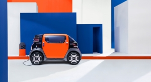 Citroën Ami One Concept profil roues électrique