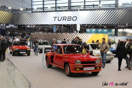 Renault 5 Turbo Rétromobile 2019