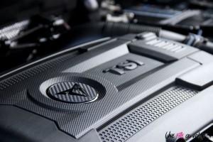 Cupra Ateca détail logo TSI moteur