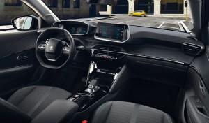 Peugeot 208 intérieur sièges volant écran