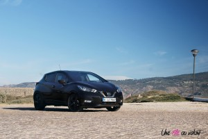 Nissan Micra N-Sport statique profil avant
