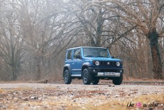 Suzuki Jimny statique essence 1,5 calandre