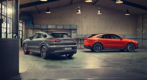 Porsche Cayenne Coupé pack Sport Design profil jantes
