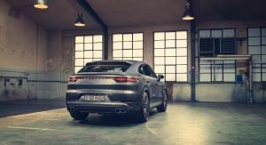 Porsche Cayenne Coupé arrière feux roues