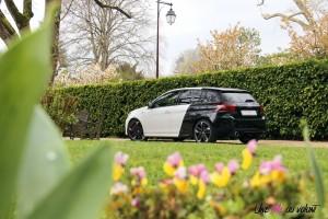 Peugeot 308 GTi arrière statique feux échappement