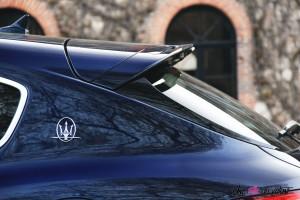 Maserati Levante 2019 toit logo détail bleu