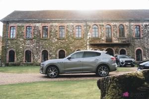Maserati Levante 2019 profil jantes gris essence