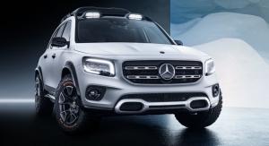 Mercedes GLB 2019 avant statique calandre