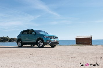 Volkswagen T-Cross profil turquoise maui