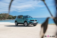 Volkswagen T-Cross 2019 turquoise jantes calandre