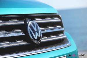 Volkswagen T-Cross détail calandre logo