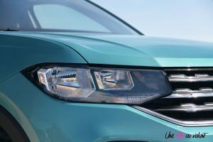 Volkswagen T-Cross feux optiques détail