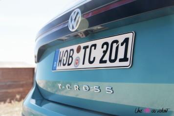 Volkswagen T-Cross arrière bandeau détail logo