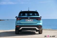 Volkswagen T-Cross 2019 arrière bouclier feux turquoise maui