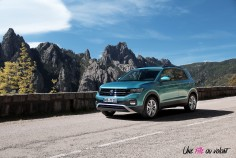 Volkswagen T-Cross 2019 Lounge jantes essence turquoise