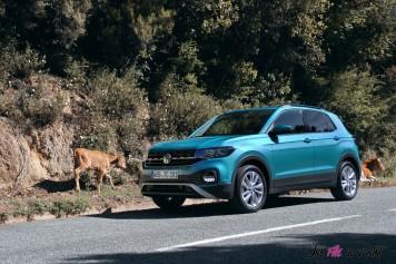 Volkswagen T-Cross 2019 Turquoise SUV essai