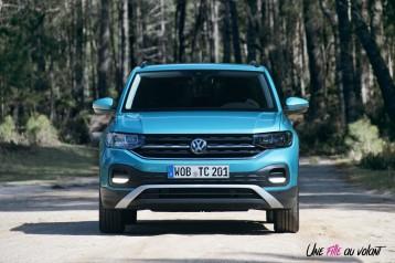 Volkswagen T-Cross 2019 avant bouclier feux calandre