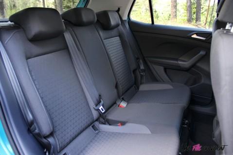 Volkswagen T-Cross 2019 banquette sièges arrière intérieur