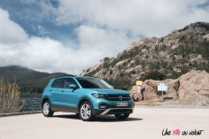 Volkswagen T-Cross 2019 TSI essence 95 Lounge turquoise