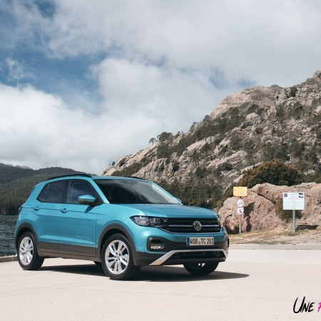 Volkswagen T-Cross 2019 TSI essence 95 Lounge turquoise