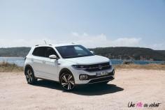 Volkswagen T-Cross 2019 R-Line blanc TSI 115