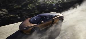McLaren GT 2019 dynamique feux avant