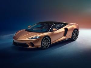 McLaren GT 2019 avant feux jantes