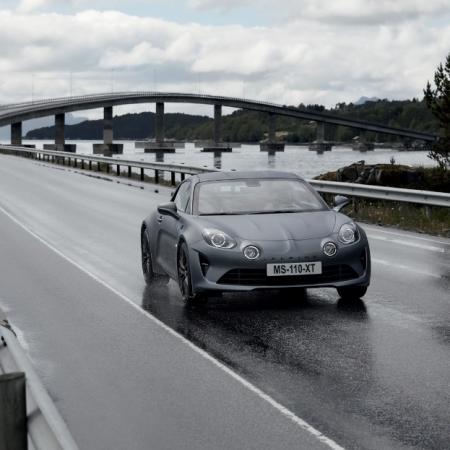 Alpine A110S gris feux 1,8 litre