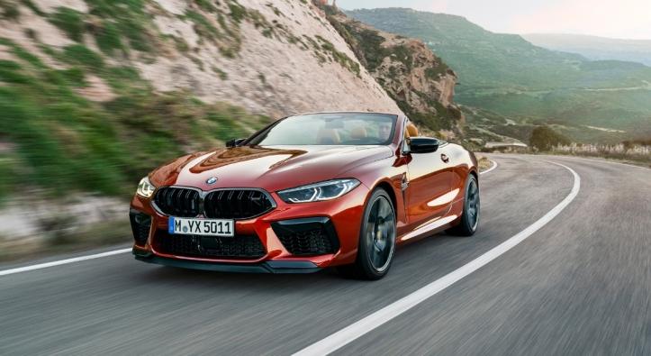 BMW M8 Competition Convertible calandre cabriolet avant
