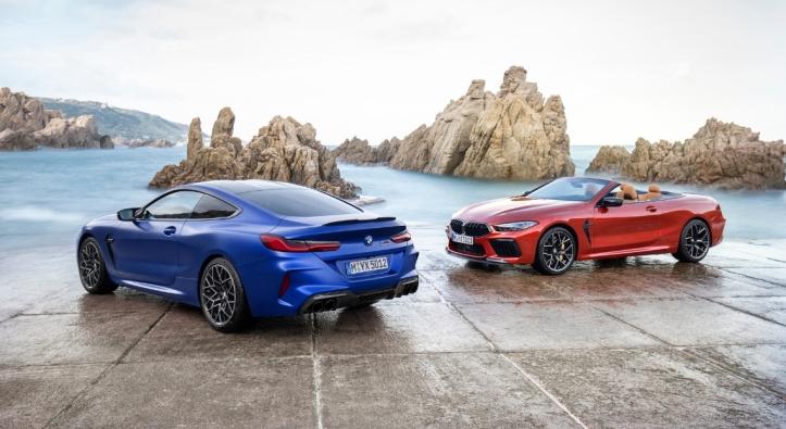 BMW M8 Competition Convertible coupé cabriolet feux jantes calandre
