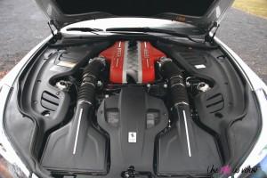 Ferrari GTC4 Lusso moteur V12 6,3 litres 690 chevaux