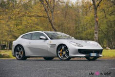 Ferrari GTC4 Lusso 2019 profil jantes calandre break V12