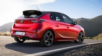 Opel Corsa 2019 arrière becquet feux