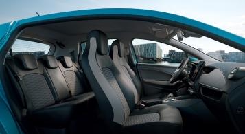 Renault Zoé 2019 intérieur sièges