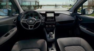 Renault Zoé 2019 intérieur volant écran sièges