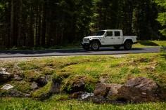 Jeep Gladiator 2019 profil jantes benne