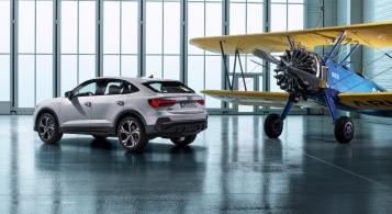 Audi Q3 Sportback 2019 arrière statique jantes profil