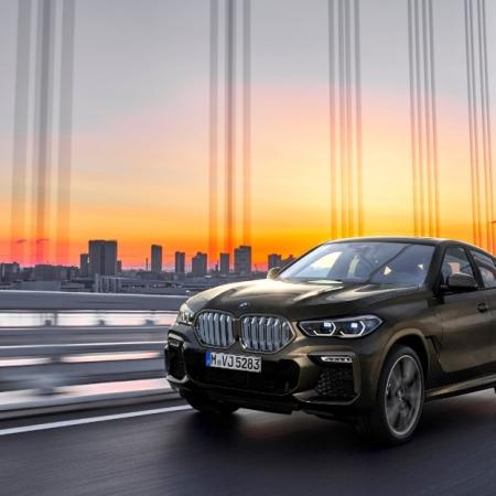 BMW X6 2019 calandre feux jantes profil